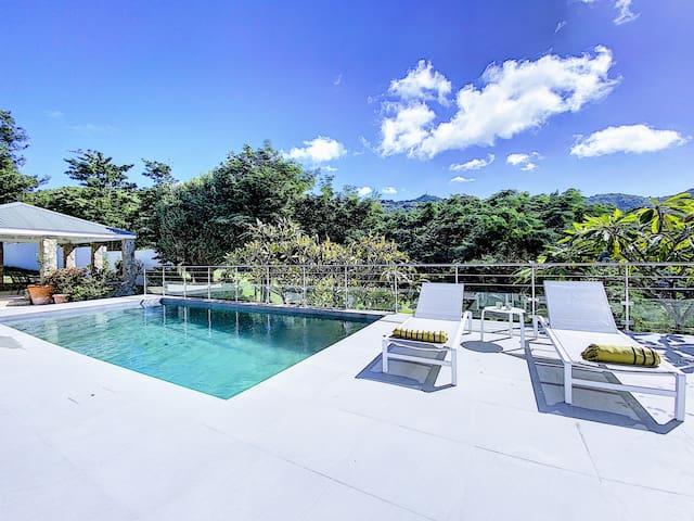 Villa Jungle Paradise, sublime à 5' de la plage