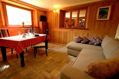 Lovely apartment in Cogne – Private garden. - Cogne - Wohnung