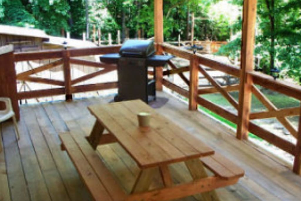 12x25 Deck With Propane Grill