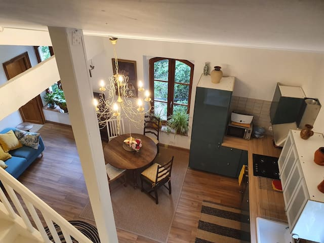 Bright Spacious Appartment with communal garden