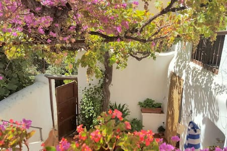 Amplia y singular casa de pueblo cerca de Almería - Huis
