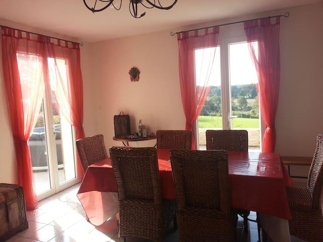 My home at the CLos de l'Epinay - Écuillé - Casa