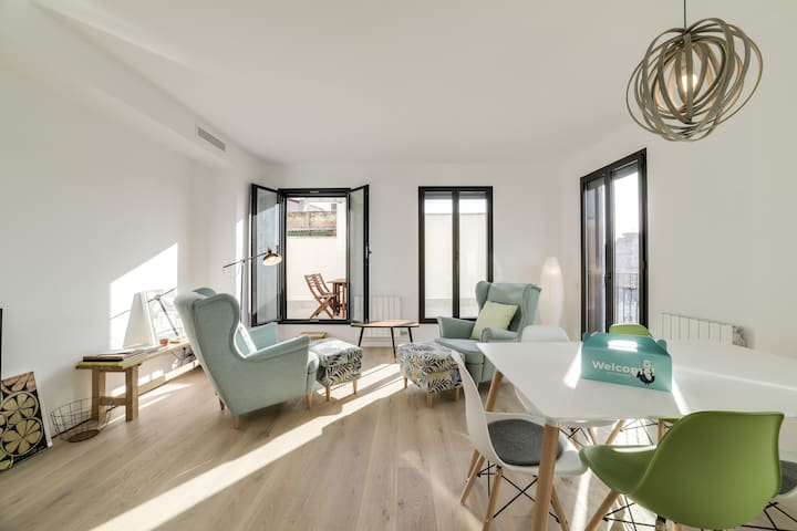 Lovely and Modern 2-Bed Apartment in Sant Andreu