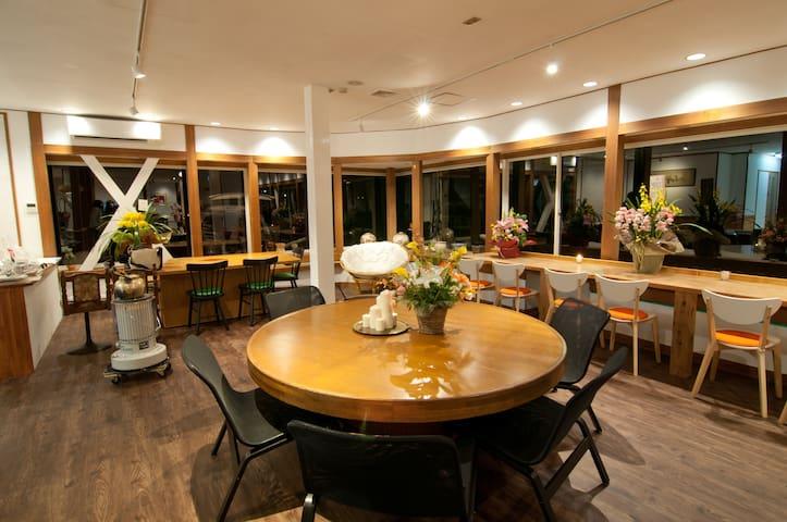 Reica Guest House&Cafe白馬 - Hakuba-mura - Bed & Breakfast