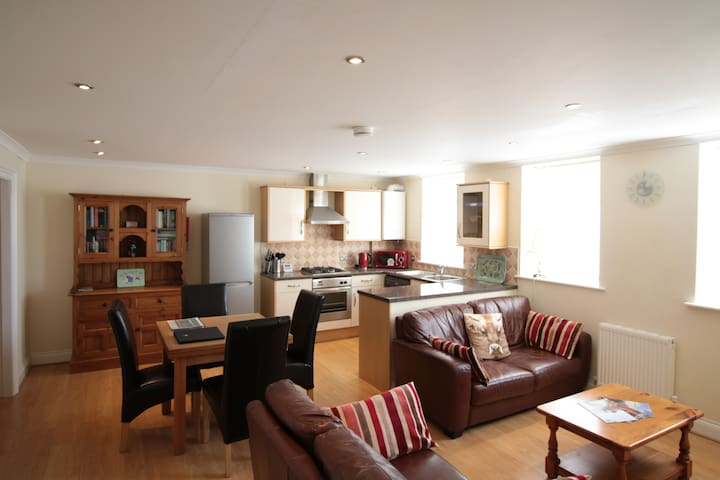 Manor house apartment on Dartmoor National Park