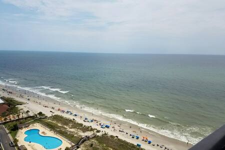 Walk to the Sand - Gated Oceanfront Condo 1 - Myrtle Beach