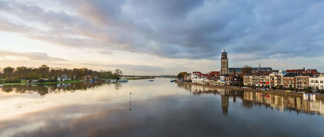 The nearby Hanseatic trade city of Deventer has a well preserved historic center and is worth a visit