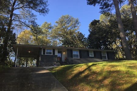 Private Emory Atlanta Ranch House - Decatur - Ház