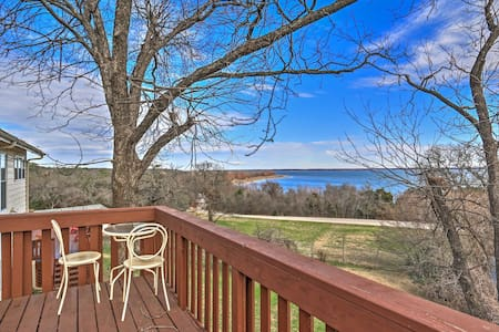 4BR Clifton House Overlooking Lake Whitney! - Clifton - Talo