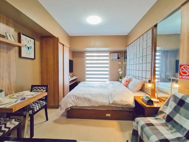 [3] It Park Cebu City | WIFI | in Avida | King bed