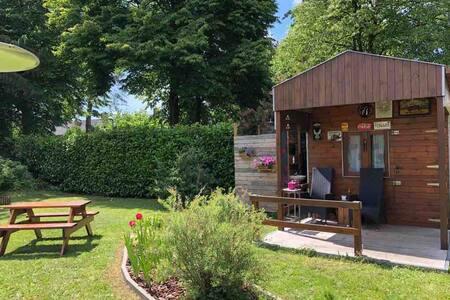 Wooden Garden House Lokeren
