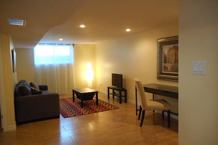 Inviting apartment with private entrance & parking