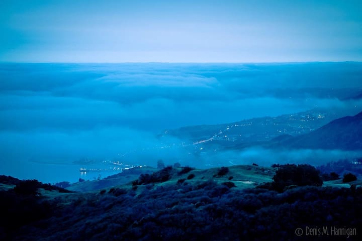 One of the beautiful views from  Topanga photo by Denis Hannigan