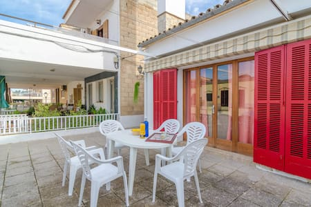 Can Pons - nice town house close to the beach - Can Picafort