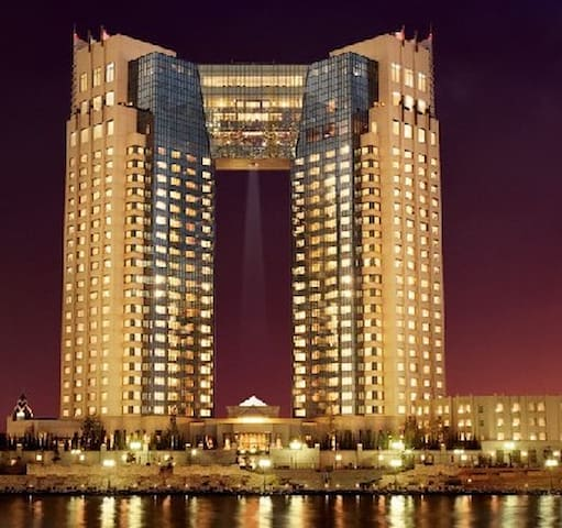 Tokyo Baycourt Club 东京最好的超五星酒店 - Kōtō-ku - ブティックホテル