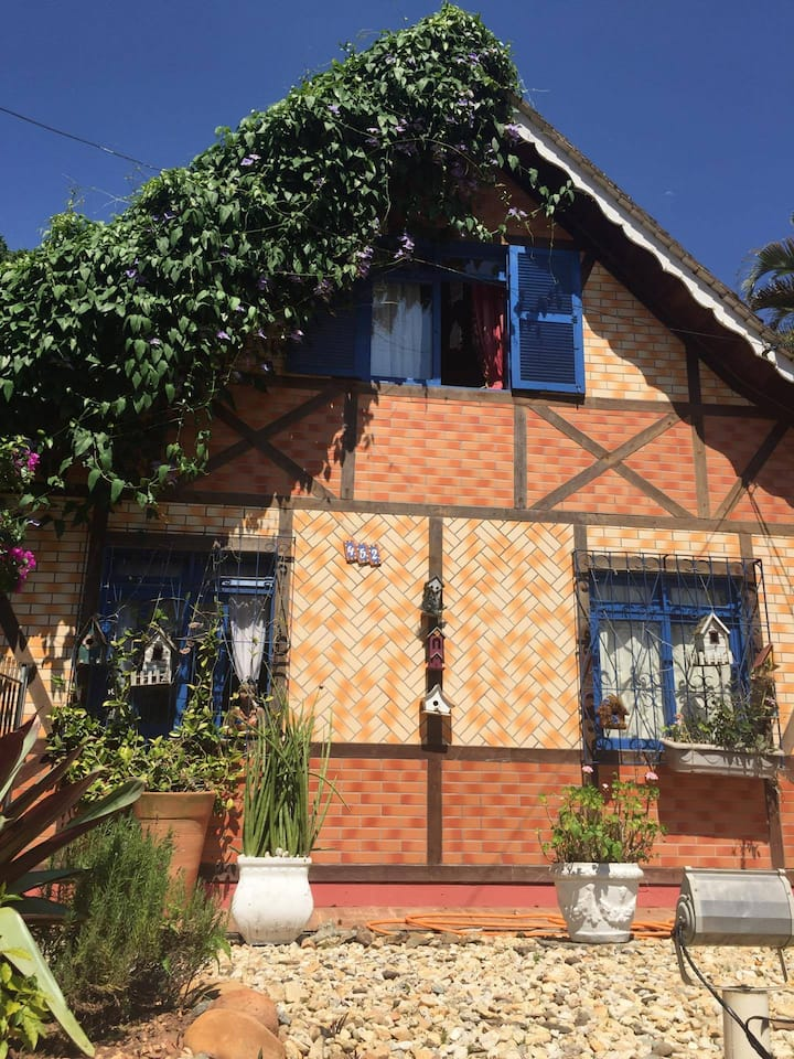 Casa aconchegante estilo germânica