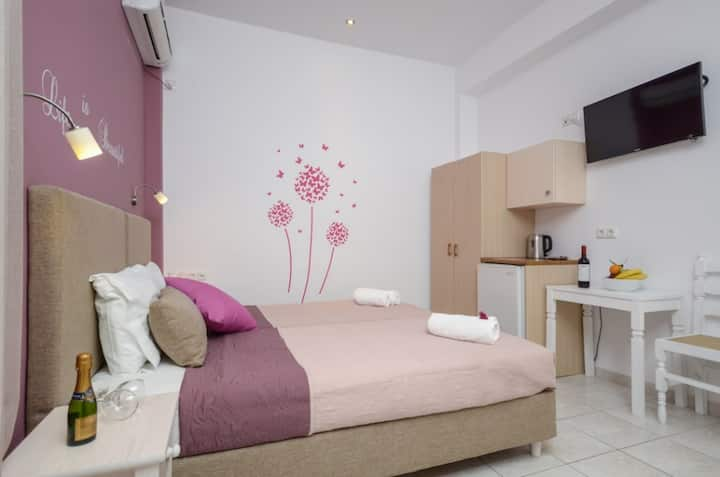 Deluxe Twin Room - Panormos Hotel Naxos