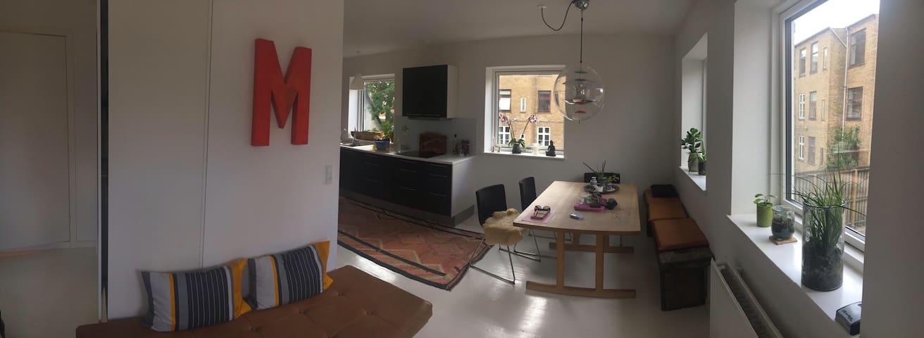 Spacious Loft in Copenhagen with a big Terrace - Copenhague - Apartamento