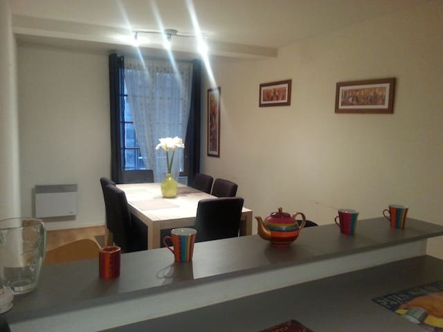 Spacious apartement in the historic city centre - Clermont-Ferrand - Apartamento
