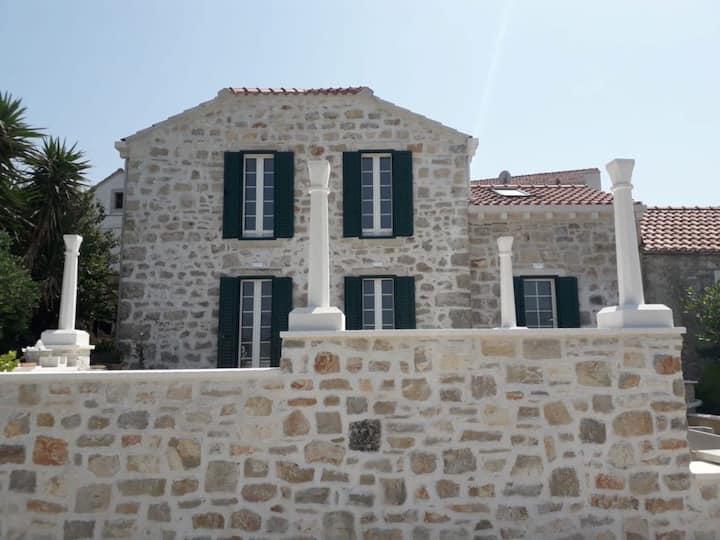 House Zemina with amazing view
