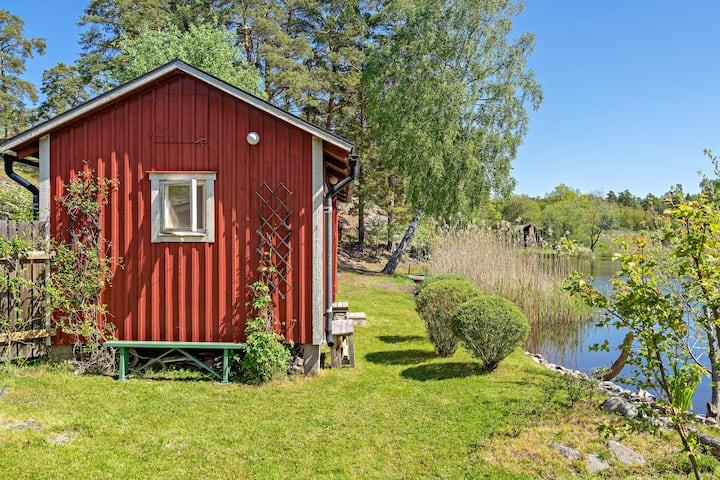 En lugn oas i Skärgården med egen sjötomt!