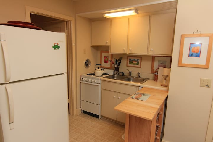 Fully equipped kitchen......