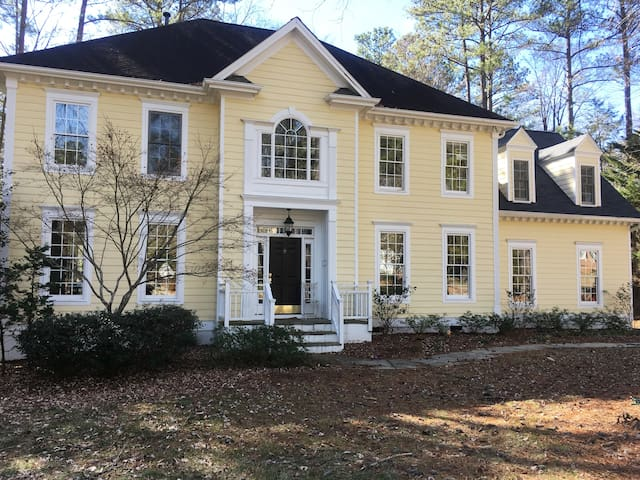 The Big Yellow House in Chapel Hill
