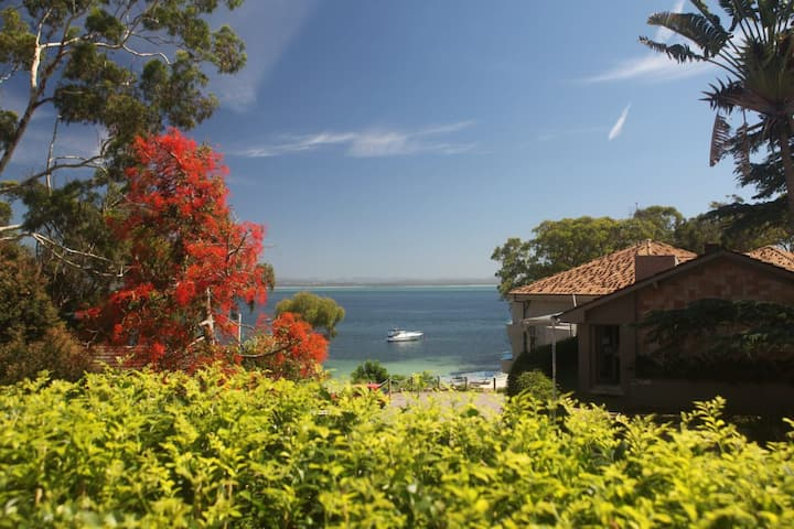 Dutchies Vista, 1/45 Christmas Bush Ave - Ground Floor Duplex with Stunning Water Views