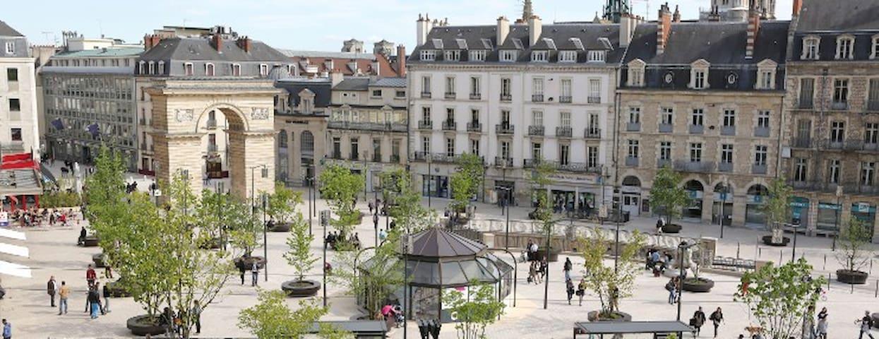 Petit éclat de verdure aux portes de Dijon :) - Quetigny - House