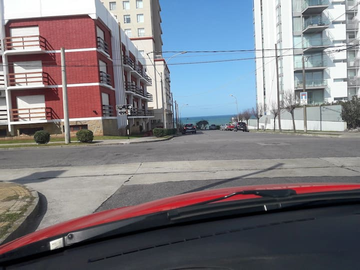 Departamento 3 ambiente Playa Grande con cochera