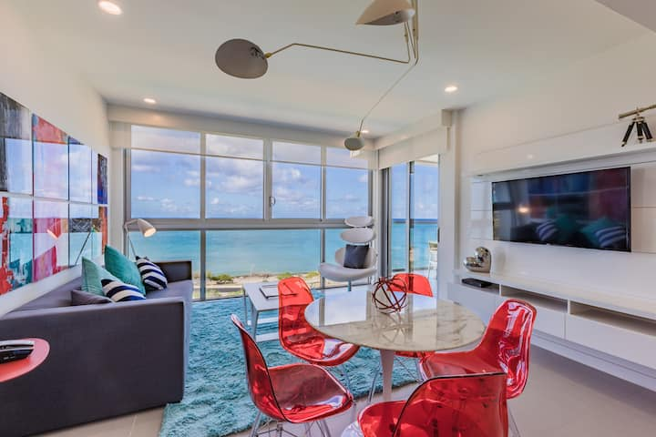 Your paradise! The 2 BDR condo with Ocean View