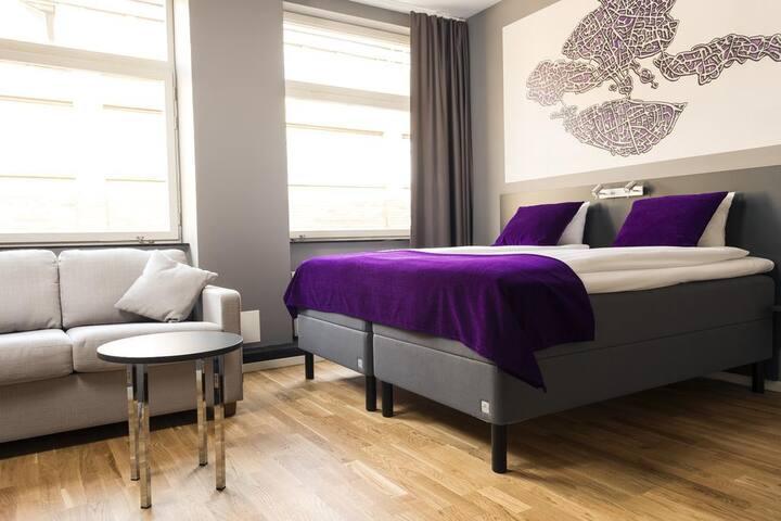 Private room in Hotel Kista