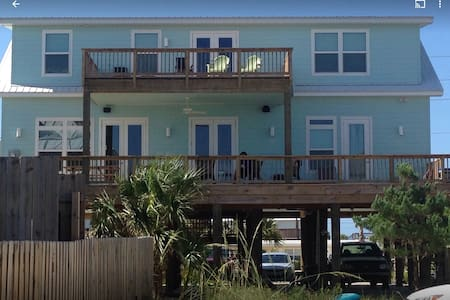 Barefoot Beach House  - Great views & location - Pensacola Beach - Casa