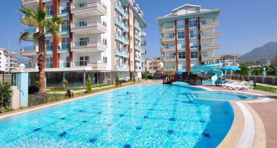 Panorama Beach Residence - Kestel - Apartment
