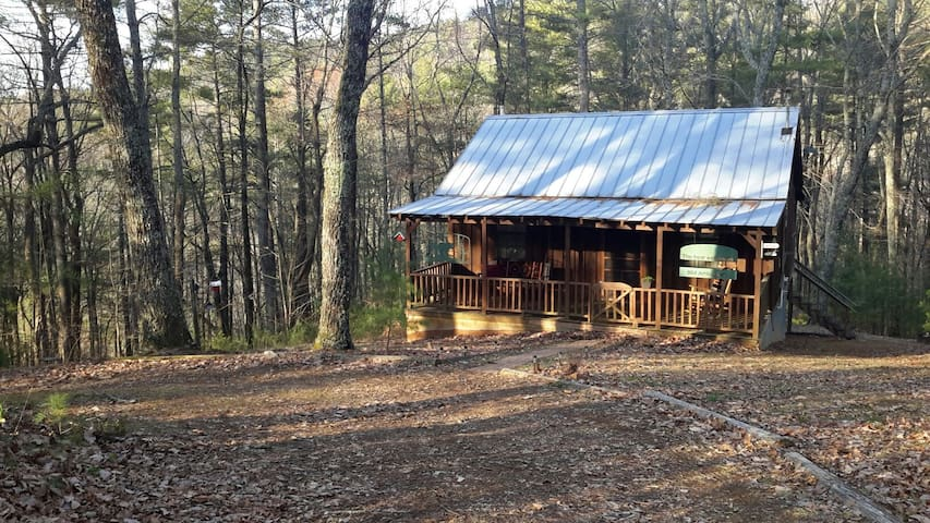 Peaceful Cabin in the Woods - Ellijay - Hytte
