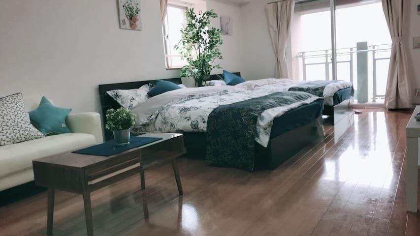 [BENE HOUSE]★한국인호스트[하카타역 도보7분] 깨끗하고 넓은 집 가족여행 추천