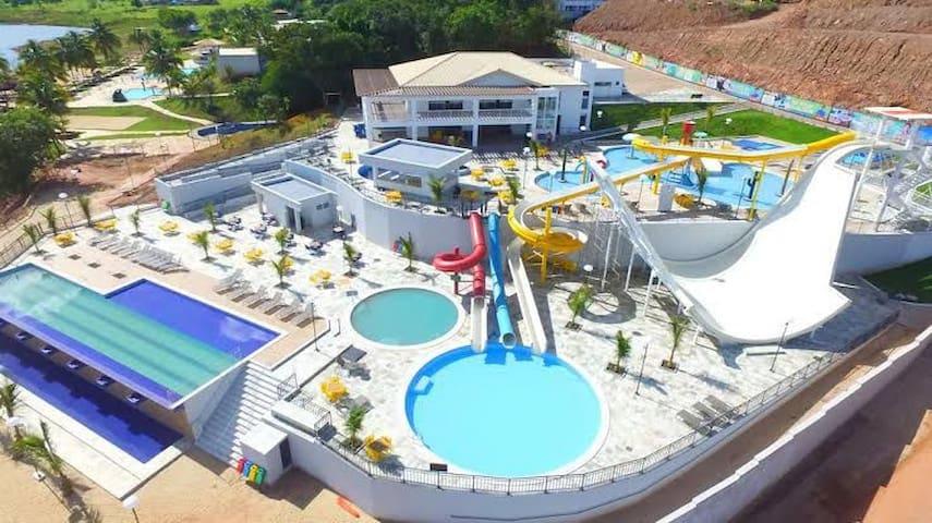 Resort espetacular em Caldas Novas