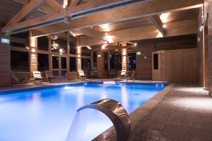 Apartment in a 4* residence. Pool-Village&ski