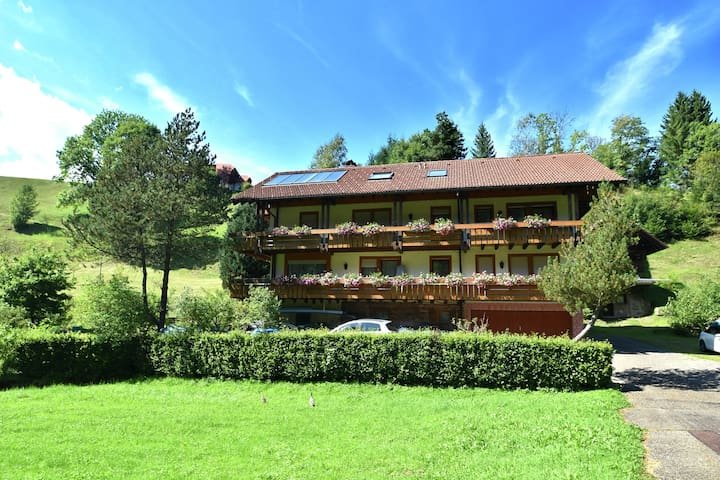 Luxurious Apartment in Obertal with Balcony