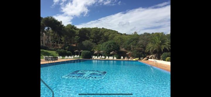 La Manga Club - 1bed sunny penthouse and pool