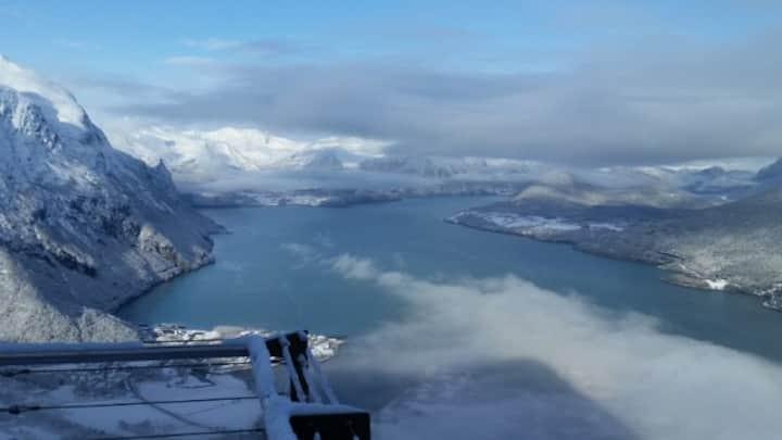 Leilighet i naturskjønne Romsdalen