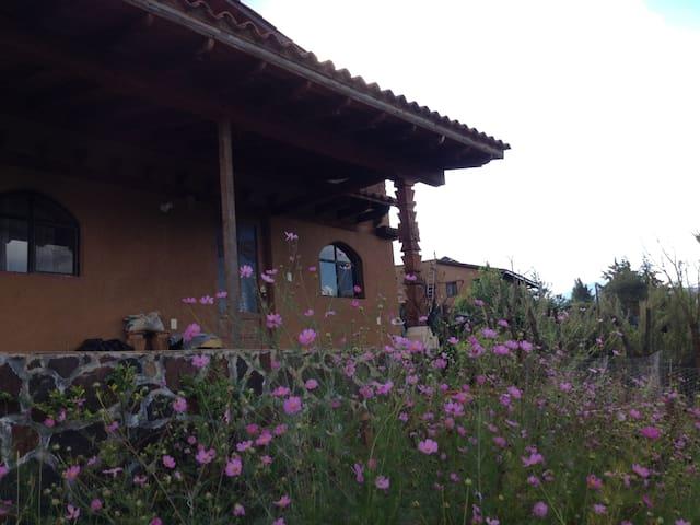 La casa de adobe de Erongaricuaro - Erongarícuaro - Appartement