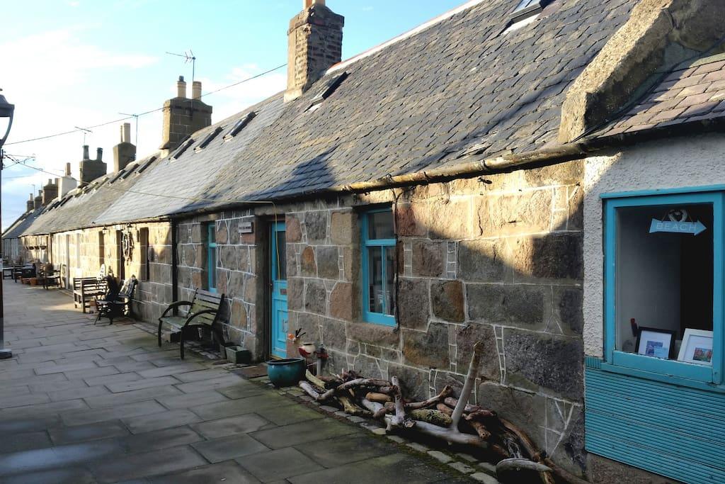 My Traditional Fisherman's Cottage in Footdee (Fittie) Aberdeen