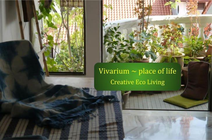 The Vivarium ~ Private Single Bedroom Shared Bath
