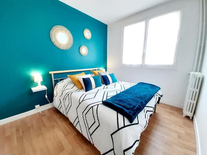 #Charmant appartement rénové / proche centre ville