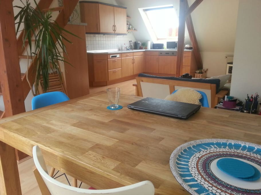 lovely penthouse for 2 apartments for rent in hannover niedersachsen germany. Black Bedroom Furniture Sets. Home Design Ideas