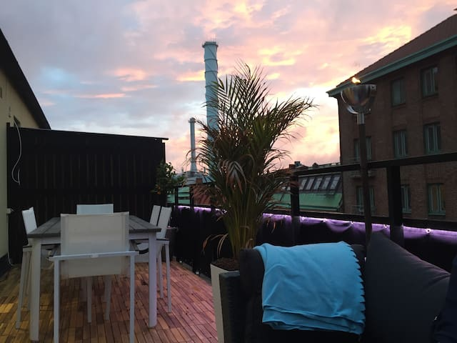 Penthouse Apartment in the City Center - Gothenburg - Flat