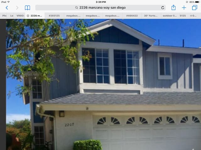 Central  4 bd--Resort  Facilities! - San Diego - Townhouse