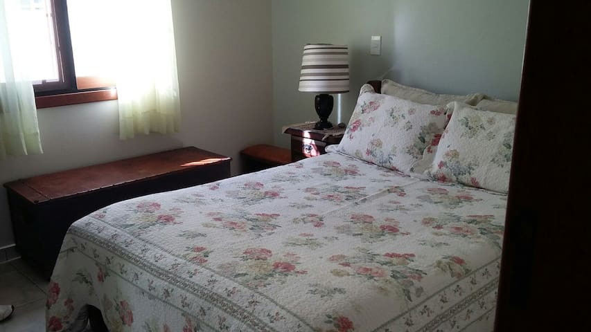 Charming room with double bed.