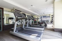 Fully equipped air-conditioned gym to challenge oneself
